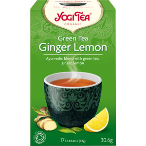 Ceai Yogi Tea cu ghimbir si lamaie