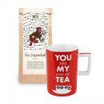 Set cadou Ceai Tea Dependent Demmers Teehaus si Cana You Are My Cup of Tea