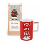 Set cadou Ceai Tea Helper Demmers Teehaus si Cana You Are My Cup of Tea